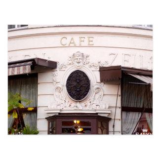 Vienna Cafe Postcard