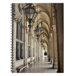 Vienna City Hall Architecture Notebook