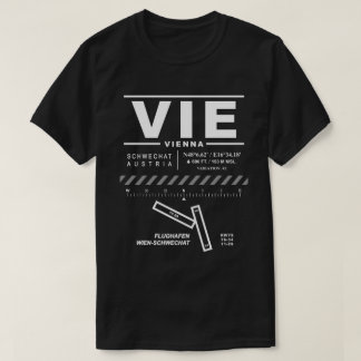 Vienna International Airport VIE Tee Shirt