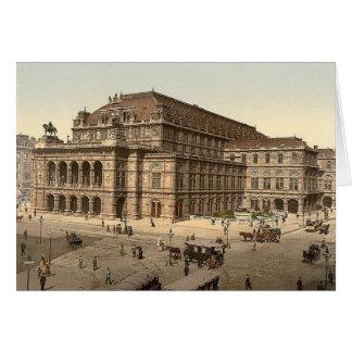 Vienna Opera House Blank Card