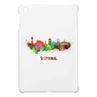 Vienna skyline in watercolor iPad mini cover