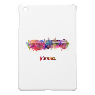 Vienna skyline in watercolor iPad mini covers