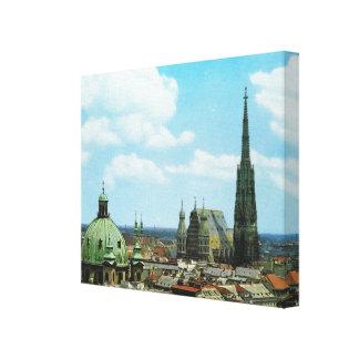 Vienna, St Stephen's cathedral, Austria Canvas Print