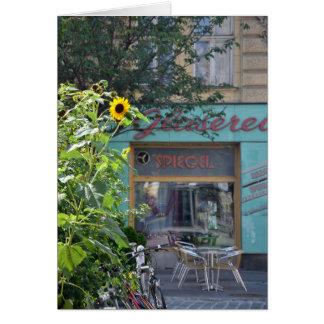 Vienna Sunflower Scene Card
