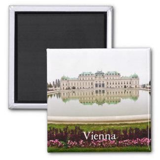 Vienna Vintage Travel Tourism Magnet