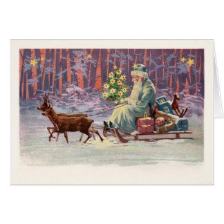 Vienna Woods Santa Card