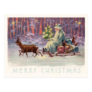 Vienna Woods Santa Postcard
