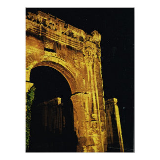 Vienne, Gateway to the Forum Poster