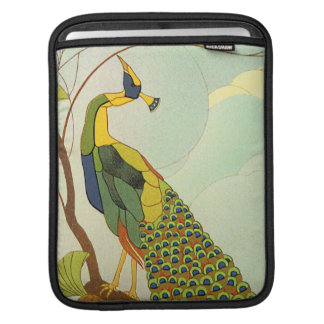 Viennese Art Nouveau Peacock Sleeves For iPads