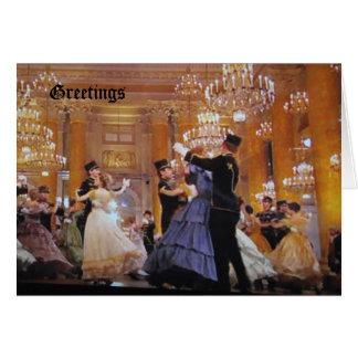 Viennese Waltz Card