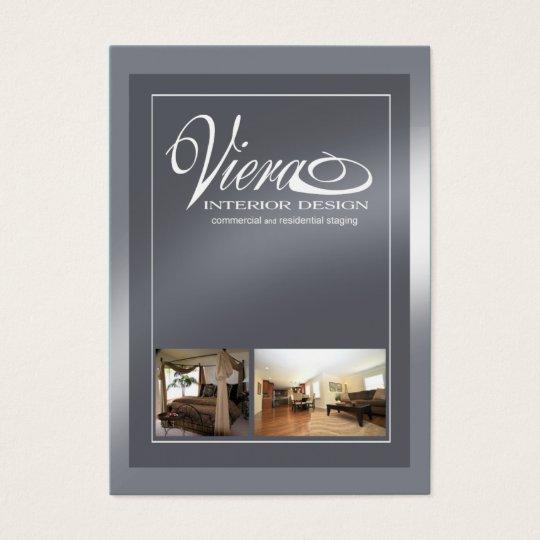 Viera Home Staging Interior Design Slate Blue Business