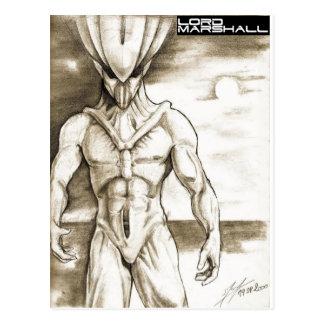 Vierzon Creature Postcard