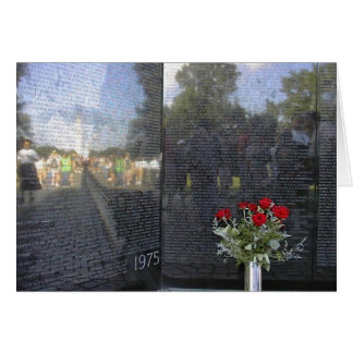 Viet Nam Memorial Wall Card