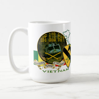Vietnam-1st Cavalry Div (Air Cav) Coffee Mug