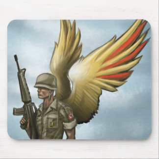 Vietnam airborne forever mouse pad
