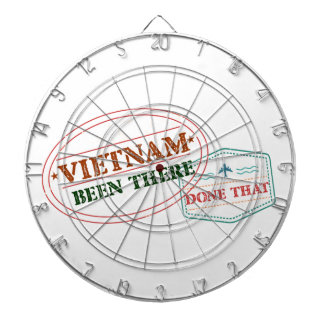 Vietnam Been There Done That Dartboard