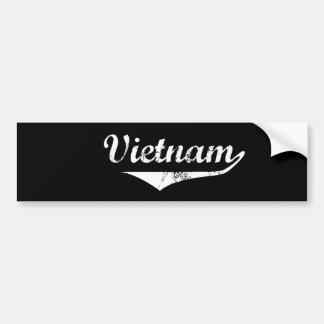 Vietnam Car Bumper Sticker