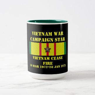 Vietnam Cease-Fire / Campaign Two-Tone Mug