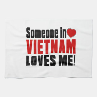 VIETNAM Celebrating Years Of Being Awesome Tea Towel