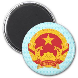 Vietnam Coat of Arms detail Magnet