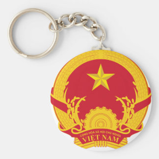 Vietnam Coat Of Arms Key Ring