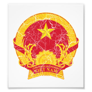 Vietnam Coat Of Arms Photograph