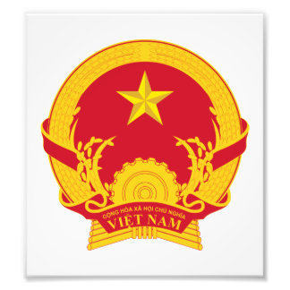 Vietnam Coat Of Arms Photo Print