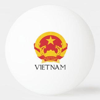 Vietnam Coat of Arms Ping Pong Ball