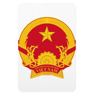 Vietnam Coat Of Arms Vinyl Magnet
