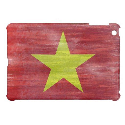 Vietnam distressed Vietnamese flag iPad Mini Cover