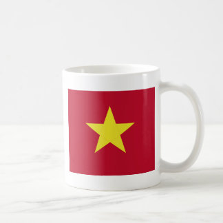 Vietnam flag coffee mug