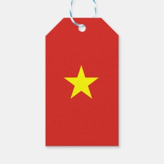 Vietnam Flag Gift Tags