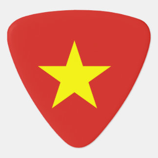 Vietnam flag guitar pick
