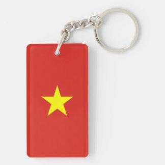 Vietnam Flag Key Ring