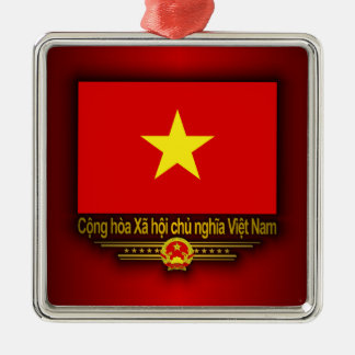 Vietnam Flag Metal Ornament