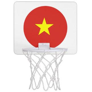 Vietnam flag mini basketball hoop