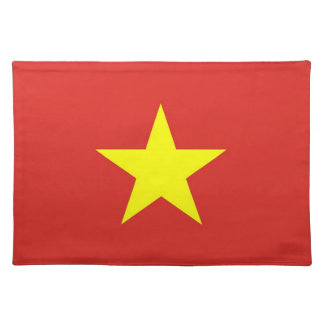 Vietnam Flag on MoJo Placemat