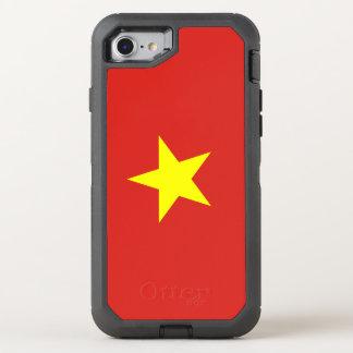 Vietnam flag OtterBox defender iPhone 8/7 case