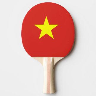 Vietnam flag ping pong paddle