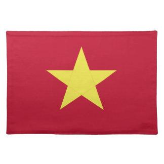 Vietnam flag placemat
