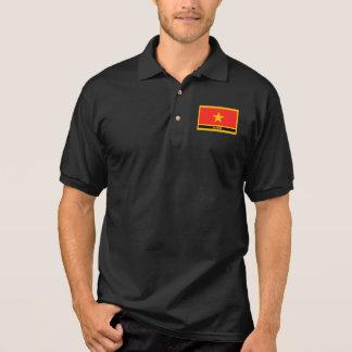 Vietnam Flag Polo Shirt