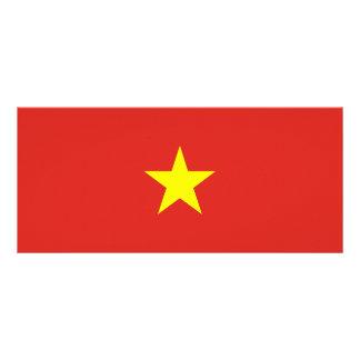 Vietnam Flag Rack Card