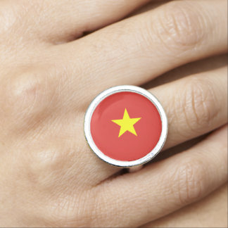 Vietnam flag ring