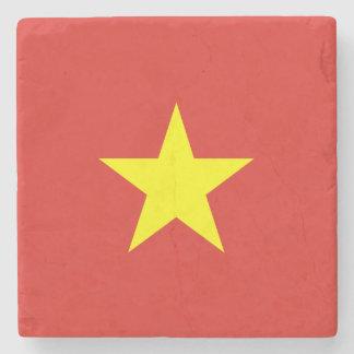 Vietnam Flag Stone Coaster