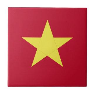 Vietnam flag tile
