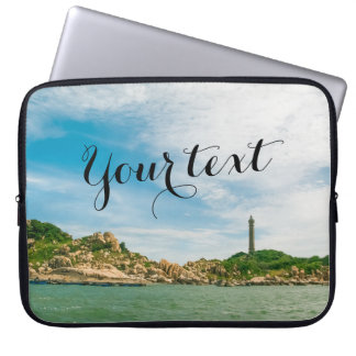 Vietnam Highest Oldest Lighthouse Laptop Sleeve