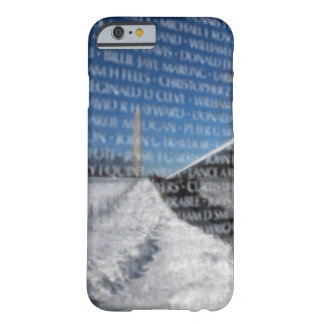 Vietnam Memorial Wall During Winter Barely There iPhone 6 Case