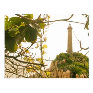 Vietnam Oldest Highest Lighthouse Photo Postcard