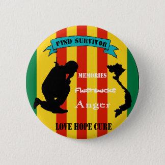 Vietnam PTSD Survivor Pin