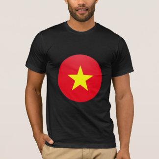 Vietnam quality Flag Circle T-Shirt